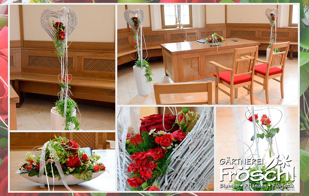 Hochzeit for Saaldekoration hochzeit